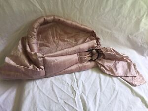 Diuponi silk pink baby carrier sling Strathcona County Edmonton Area image 2