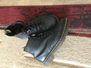 Youth Dr. Martens shoes and ankle boots