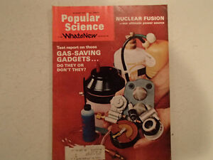 Vintage Popular Science Magazine August 1974  VGC