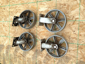 **INDUSTRIAL CASTERS**