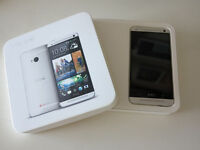 HTC ONE UNLOCKED Excellent condition Mint Box $230 obo
