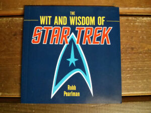 The wit and wisdom of Star Trek book $5