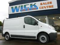 2010 Vauxhall VIVARO 2900 CDTI SWB VAN *F/S/H* Manual Medium Van