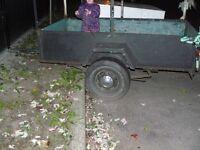 Remorque / trailer 4 X 7