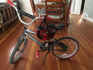 "18"" Star Wars bike and helmet 50.00 EUC"