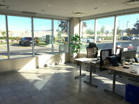 Ground Floor Corner Office Retail Space All Inclusive Furnished