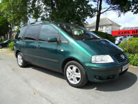 VOLKSWAGEN SHARAN 1.9 TDI 2001 SPORT COMPLETE WITH M.O.T HPI CLEAR INC WARRANTY