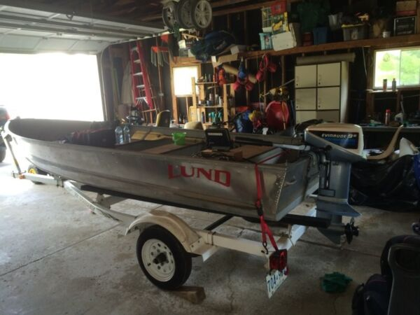 Used 2000 Lund Boat Co c-14