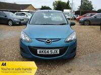 2014 (64) Blue 5 Door Mazda 2 SE Manual Petrol