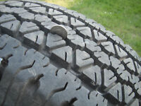 2 TIRES on RIMS fits ford ranger or any 5x 114.3 bolt pattern