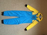 Boys minion onesie 7-8 years