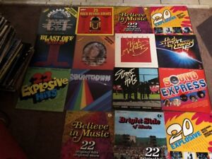 15 COMPILATION RECORDS