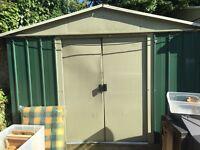Large metal shed