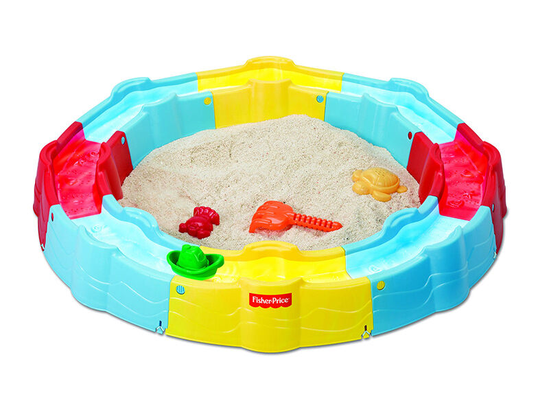 Fisher-Price Little People Build 'n Play Sandbox