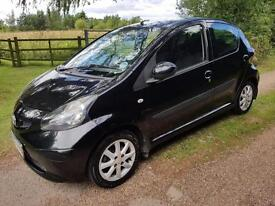 Toyota AYGO 1.0 (67bhp) MMT AYGO Black Auto Lady Owner Fully loaded £20 Road Tax