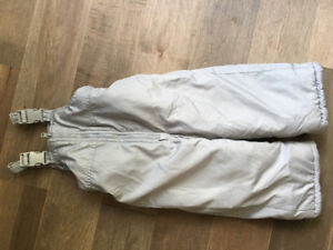 Carters grey 24 month snow pants excellent condition