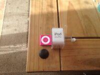 Ipod shuffle pink
