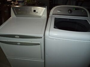 WHIRLPOOL WASHER & DRYER CAN DELIVER