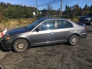 2005 Acura CL fully loaded with leather needs nothing .