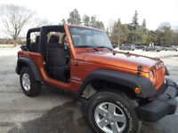 2011 Jeep Wrangler Convertible