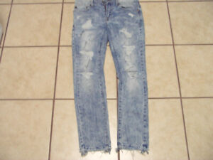 """AMERICAN EAGLE 29X30 """"SKINNY"""" JEANS - 5 PAIRS"""