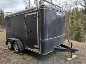 2011 United Enclosed Motorcycle Trailer