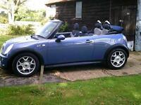 2005/55 Mini 1.6 Cooper S Convertible
