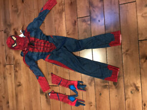 Spiderman costume - for 4-6 year old