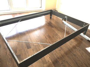 NORNÄS Ikea bed frame in gray grey (SUBMIT YOUR BEST OFFER)