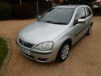 CHEAP CAR- 2005 55 VAUXHALL CORSA 1.2 SXI PLUS 16V TWINPORT 3D 80 BHP