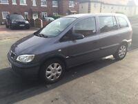 Vauxhall zafira 1.6 petrol px fiat,ford,audi