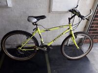 Peugeot Flame bike. 18 speed. 24 inch wheels (Suit: 11 yrs to 15 yrs).