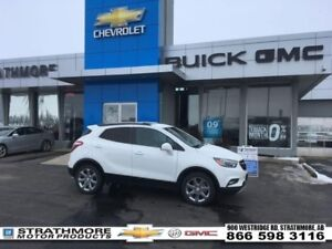 2017 Buick Encore AWD-Essence-Leather heated-Nav-Sunroof-Alert P