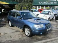 Subaru Forester 2.5 ( blk lth ) XTEn MANUAT 4X4 2008 FULL LEATHER