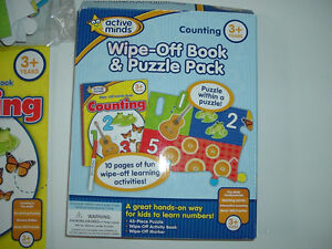 Wipe-off Counting Book & Puzzle Pack (Brand NEW)