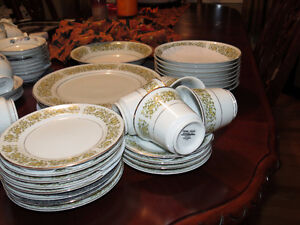 Yellow China dishes for sale (Towne House Fine China)