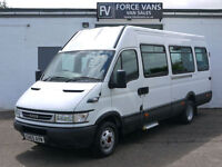IVECO DAILY IRIS BUS 40C14 COACH MINIBUS CREW CAMPER BAND WELFARE DAY VAN