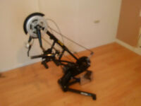 Hand cycle exercise unit