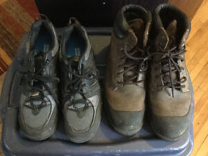 Steel toes, barely used