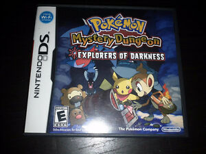 Nintendo DS: Pokemon Mystery Dungeon Explorers of Darkness