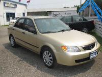 2001 Mazda Protege lx 2.0 Sedan