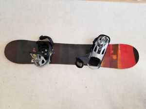 Burton Custom Smalls Snowboard & Bindings