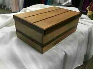 Handmade Locally Solid Wood Boxes