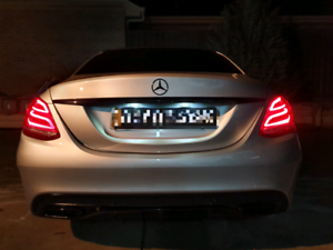 2016 Mercedes-Benz c200 Night Edition AMG Pack.