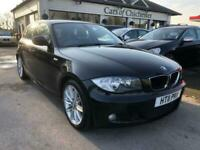 2011 BMW 1 Series 118D M SPORT 5dr Automatic only 43000 m with FSH Hatchback Die