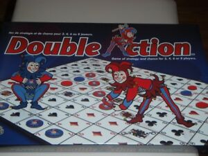 NEW Double Action Game Board.