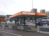 Freehold land in use as hand car wash