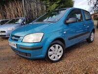 Hyundai Getz 1.3 GSi, Only 65,220 Miles, Hpi Clear, Low Insurance