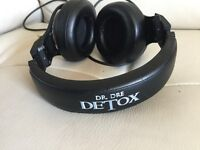 Beats detox by dr Dre headphones