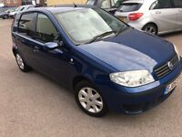 Fiat Punto AUTOMATIC 1.2 16v Dynamic 5dr PETROL ALLOY AC CD 2 KEYS AUX PORT 2005 05 REG HATCHBACK